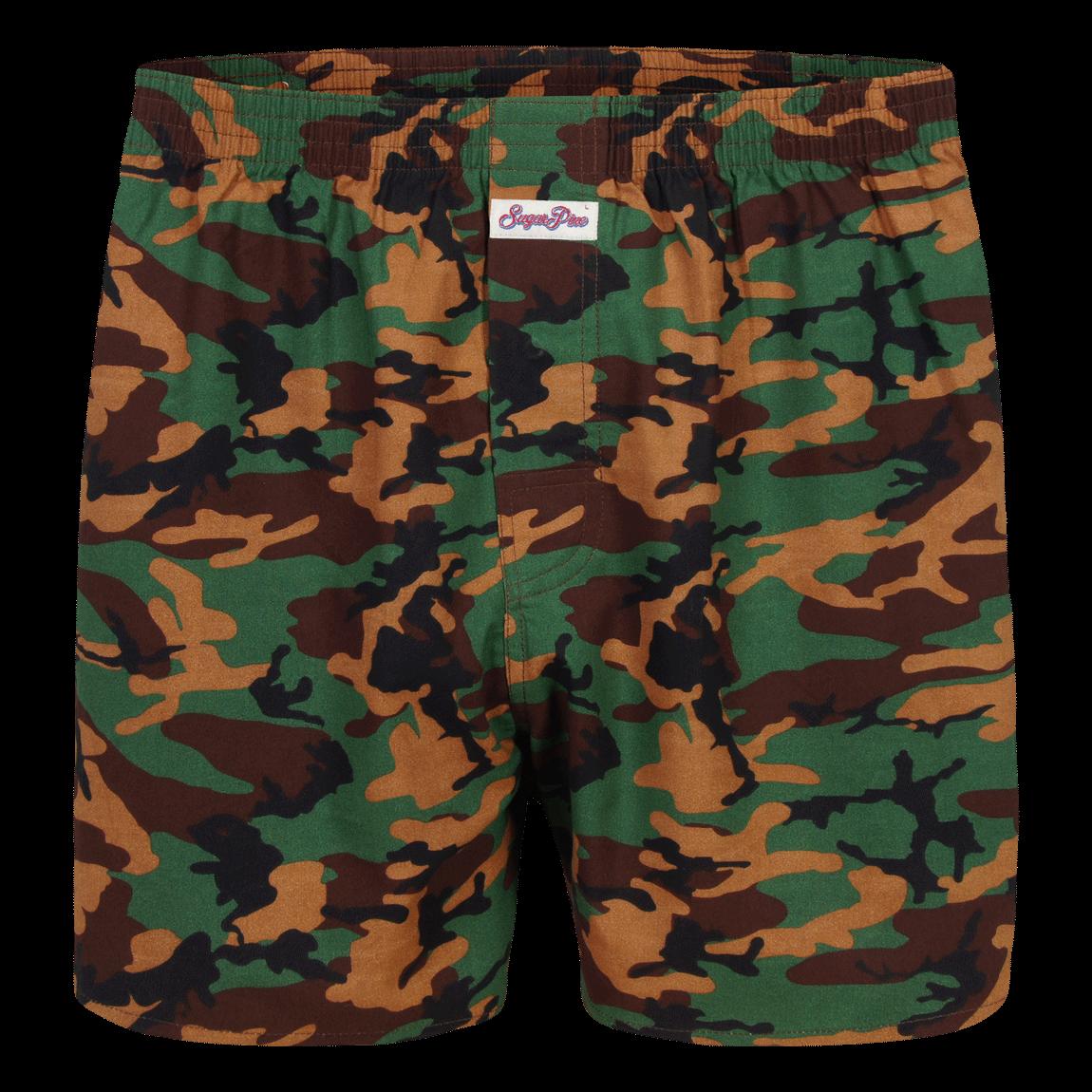 """Sugar Pine Print-Boxershorts """"Camouflage"""""""