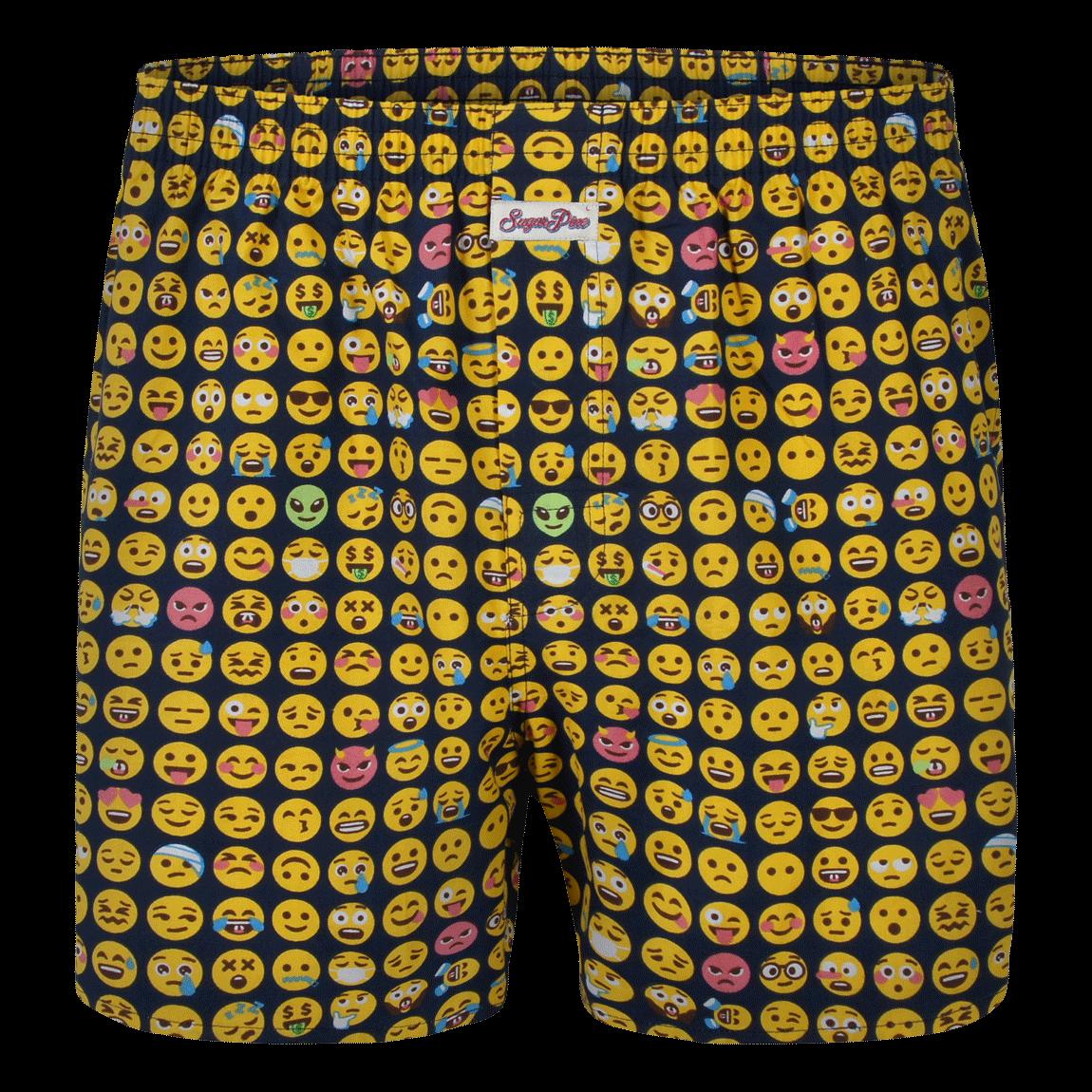 """Sugar Pine Print-Boxershorts """"Emoji"""""""