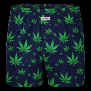 """Sugar Pine Print-Boxershorts """"Hanf"""""""