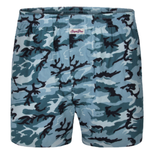 "Sugar Pine Print-Boxershorts ""Snow Camouflage"""
