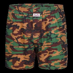 """Sugar Pine Vintage Motiv-Boxershorts """"Camouflage"""""""
